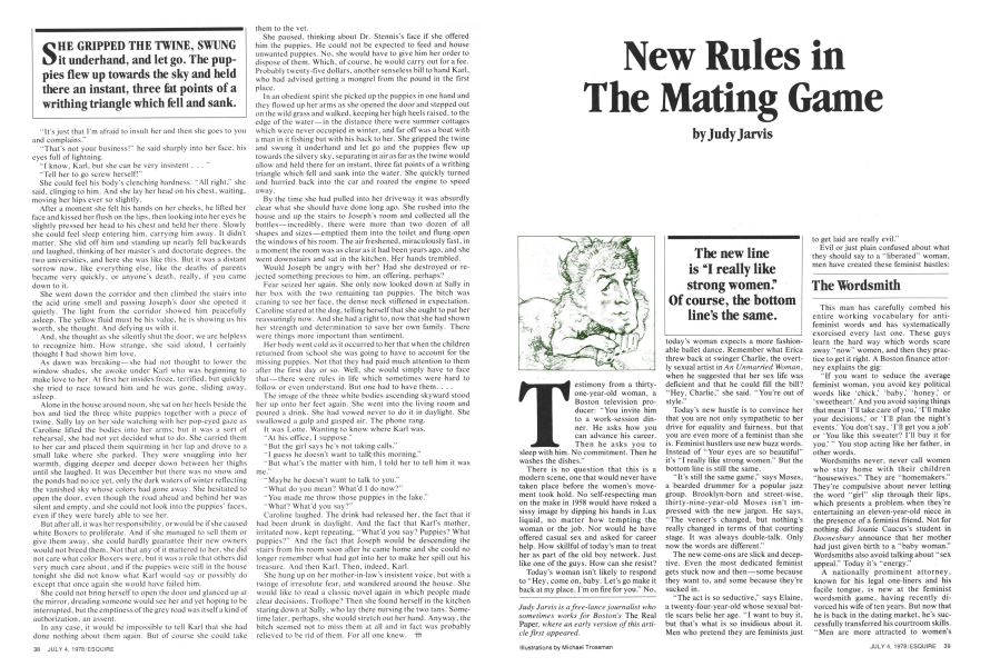 New Rules in the Mating Game | Esquire | July 4, 1978