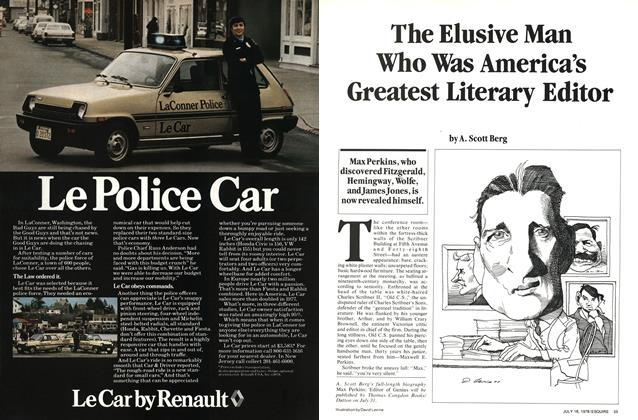 Article Preview: The Elusive Man Who Was America's Greatest Literary Editor, July,18 1978 1978 | Esquire