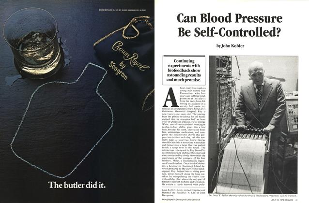 Can Blood Pressure Be Self-Controlled?