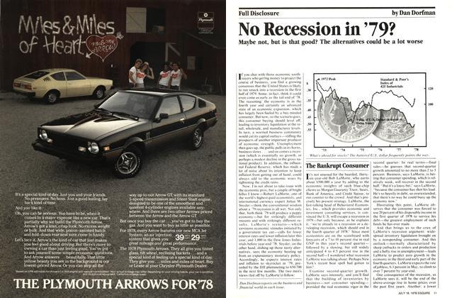 No Recession in '79?