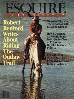 Cover for the August 1,  1978 issue