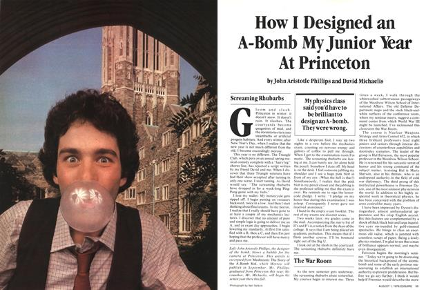 How I Designed an A-bomb My Junior Year at Princeton
