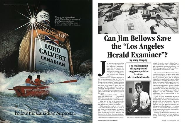 "Can Jim Bellows Save the ""Los Angeles Herald Examiner""?"