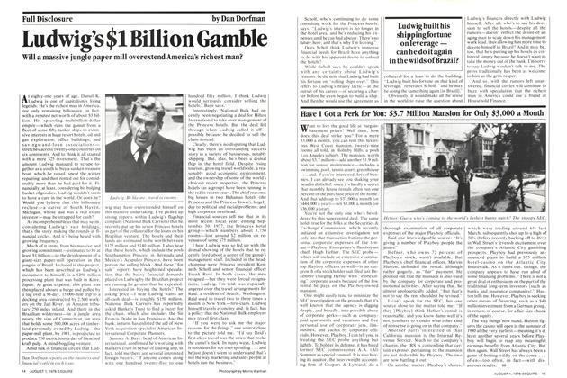 Ludwig's $1 Billion Gamble