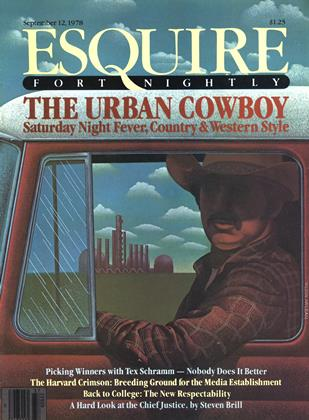 Cover for the September 12,  1978 issue