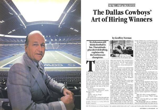Article Preview: The Dallas Cowboys' Art of Hiring Winners, September 12,  1978 | Esquire