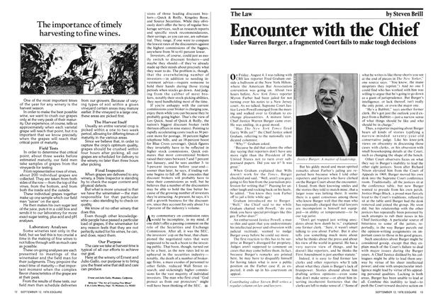 Article Preview: Encounter with the Chief, September 12,  1978 | Esquire