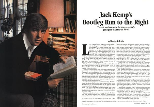 Article Preview: Jack Kemp's Bootleg Run to the Right, October 24, 1978 1978 | Esquire