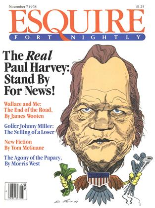 Cover for the November 7,  1978 issue