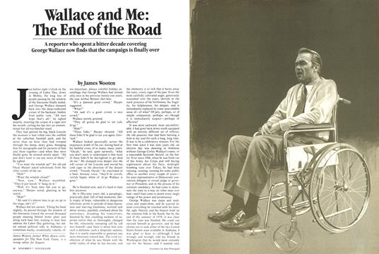 Wallace and Me: The End of the Road - November 7,  | Esquire