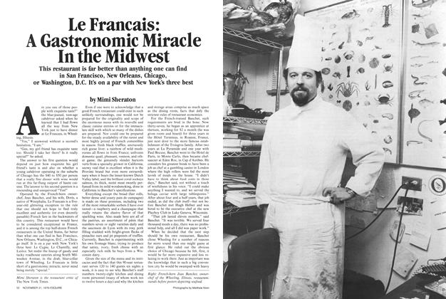Le Francais: A Gastronomic Miracle in the Midwest