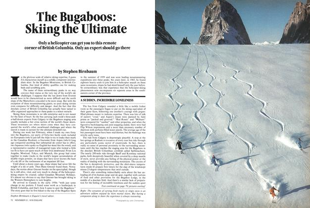 The Bugaboos: Skiing the Ultimate