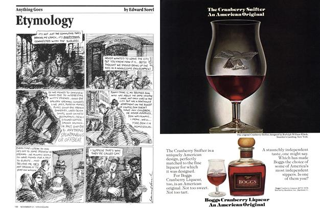 Article Preview: Etymology, November 21, 1978 1978 | Esquire