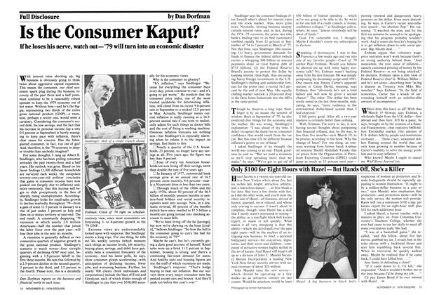 Is the Consumer Kaput?