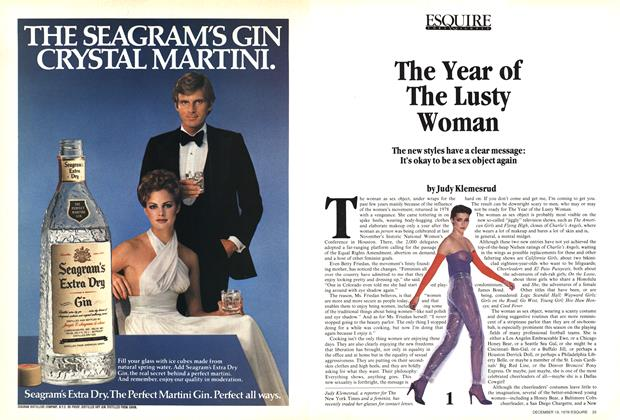 Article Preview: The Year of the Lusty Woman, December 19,  1978   Esquire