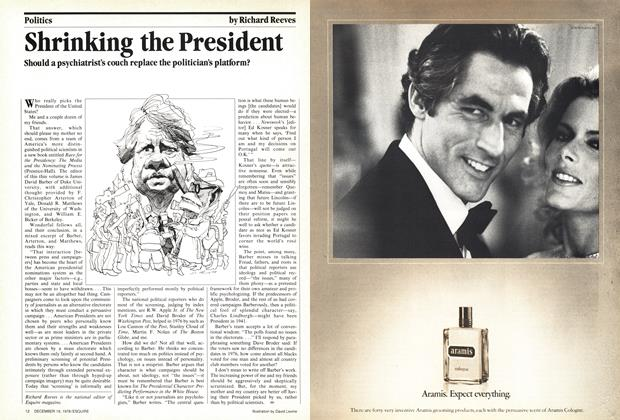 Article Preview: Shrinking the President, December 19, 1978 1978 | Esquire