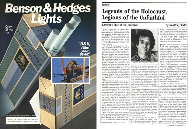 Article Preview: Legends of the Holocaust, Legions of the Unfaithful, January 30,  1979 | Esquire