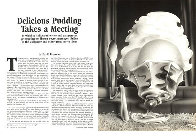 Delicious Pudding Takes a Meeting
