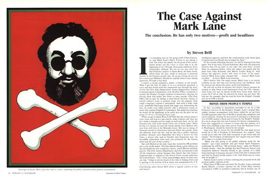 The Case Against Mark Lane