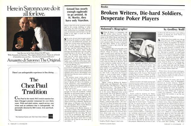 Broken Writers, Die-hard Soldiers, Desperate Poker Players