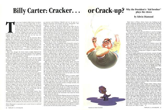 Billy Carter: Cracker... or Crack-up?