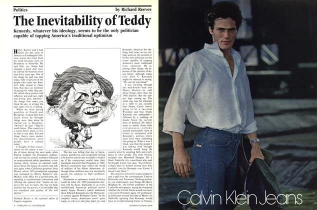 Article Preview: The Inevitability of Teddy, February 13, 1979 1979 | Esquire