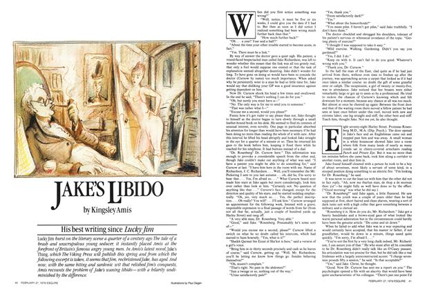 Article Preview: Jake's Libido, February 27,  1979 | Esquire