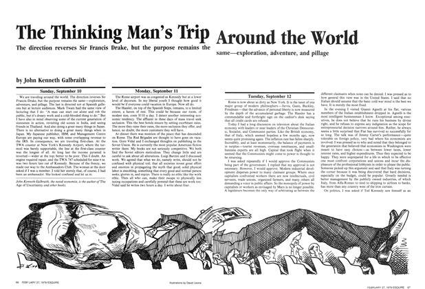 The Thinking Man's Trip Around the World