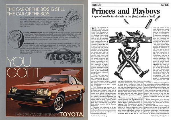 Princes and Playboys