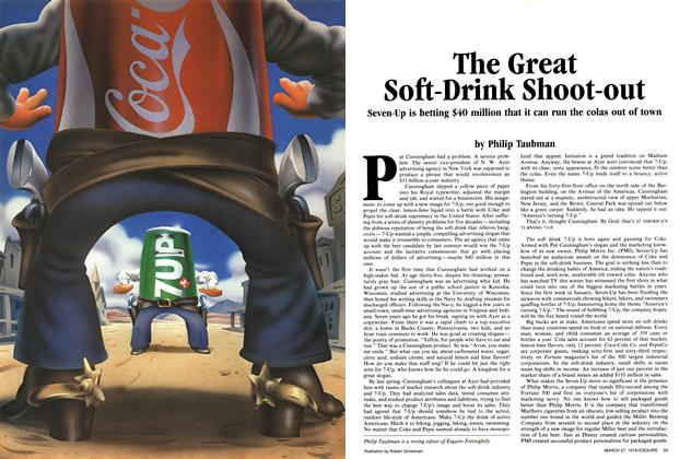 The Great Soft-Drink Shoot-out