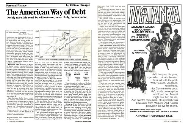 The American Way of Debt