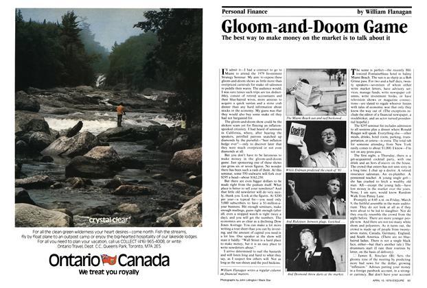 Gloom-and-doom Game