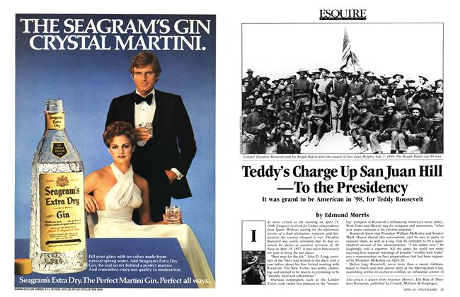Teddy's Charge Up San Juan Hill —To the Presidency