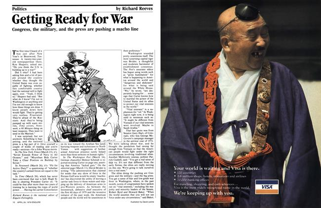 Article Preview: Getting Ready for War, April 24, 1979 1979 | Esquire