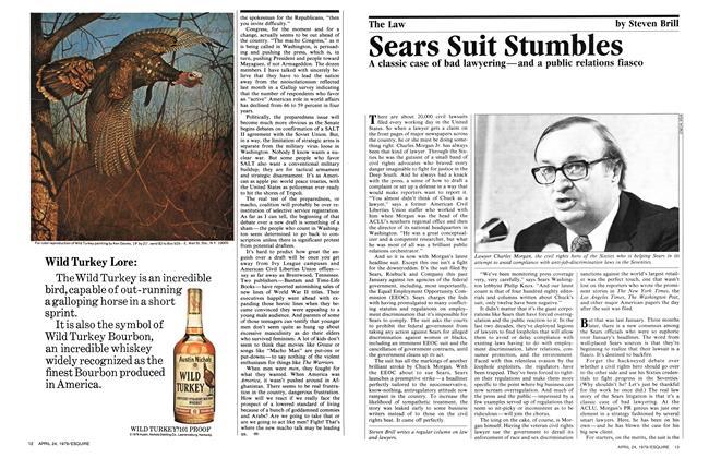 Sears Suit Stumbles