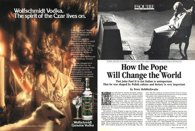 How the Pope Will Change the World