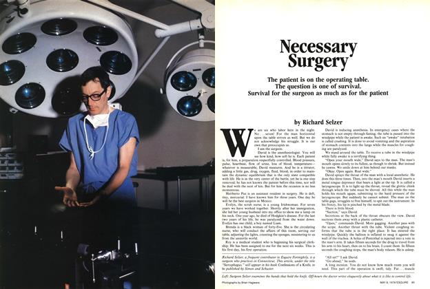 Necessary Surgery