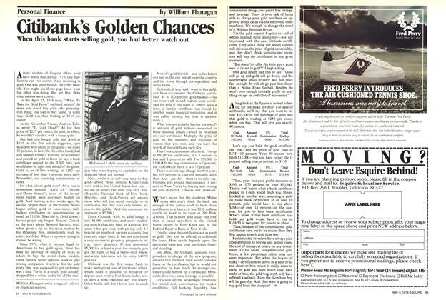 Citibank's Golden Chances