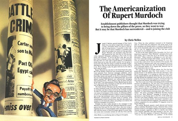 Article Preview: The Americanization of Rupert Murdoch, May 22, 1979 1979 | Esquire