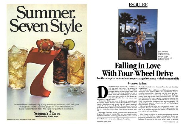 Article Preview: Falling in Love with Four-wheel Drive, June 5, 1979 1979 | Esquire