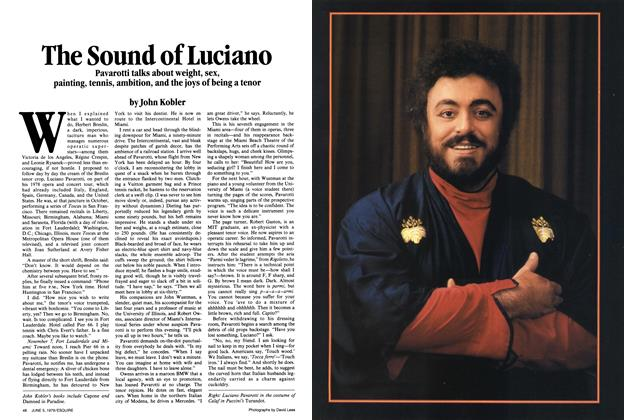 Article Preview: The Sound of Luciano, June 5,  1979 | Esquire