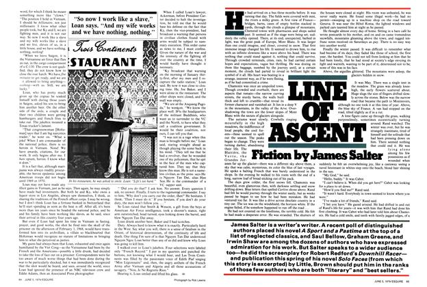 Article Preview: Line of Ascent, June 5,  1979 | Esquire