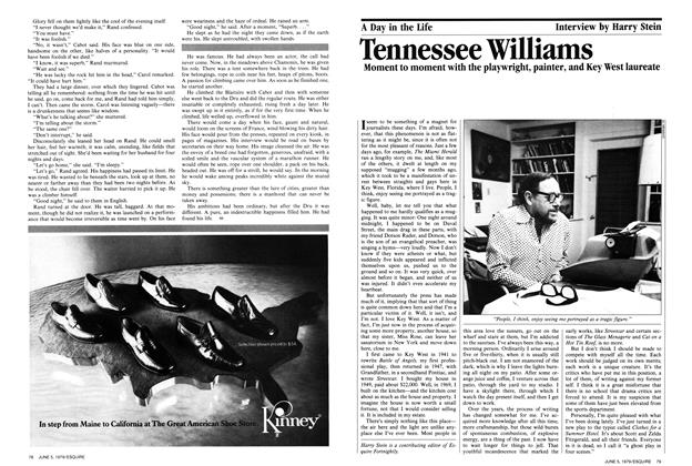 Article Preview: Tennessee Williams , June 5,  1979 | Esquire