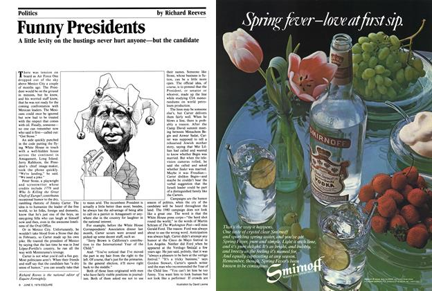 Article Preview: Funny Presidents, June 5, 1979 1979 | Esquire