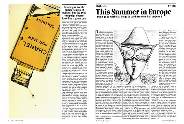 Article Preview: This Summer in Europe, June 5,  1979 | Esquire