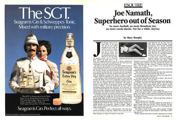 Joe Namath, Superhero out of Season