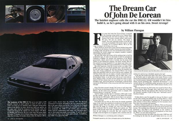 The Dream Car of John De Lorean