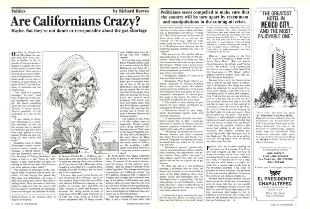 Article Preview: Are Californians Crazy?, June 19, 1979 1979 | Esquire