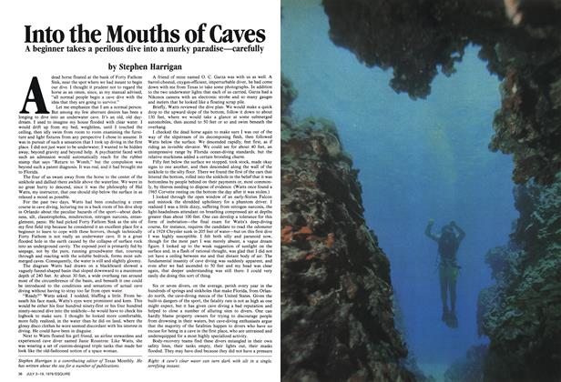 Into the Mouths of Caves