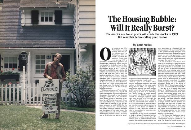 The Housing Bubble: Will It Really Burst?